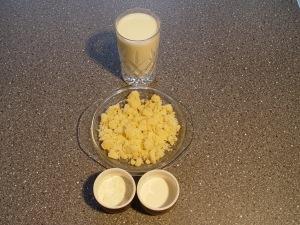 ingrediente crema de parmezan
