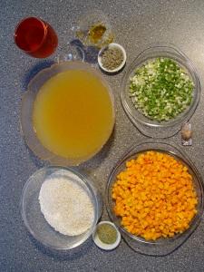 ingrediente risotto cu dovleac