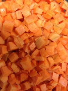 taiem morcovul cubulete