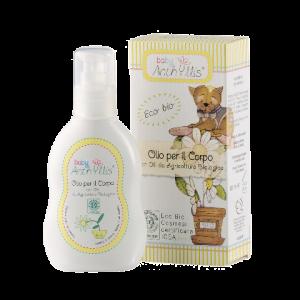 ulei de corp pentru bebelusi